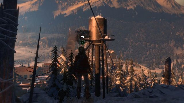 It is time to leave some musty caves and take a gust of fresh Siberian air in a bigger location - Sneak into the old Soviet base | Among the Enemy - Among the Enemy - Rise of the Tomb Raider Game Guide & Walkthrough