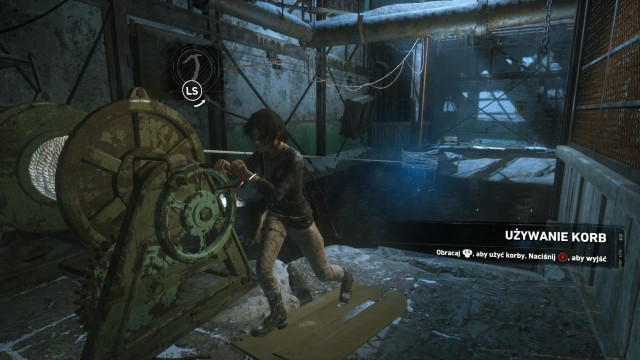 At some point, you will get into the room, where you cannot cross the flooded floor, because of the live wire in the water - Fight through the Trinity base to the old train station | Get Out of Dodge - Get Out of Dodge - Rise of the Tomb Raider Game Guide & Walkthrough