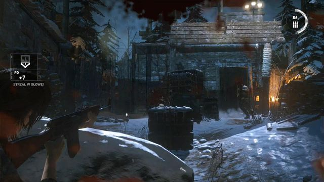 It was necessary save at the camp, because there is a major fight with large numbers of opponents - Fight through the Trinity base to the old train station | Get Out of Dodge - Get Out of Dodge - Rise of the Tomb Raider Game Guide & Walkthrough