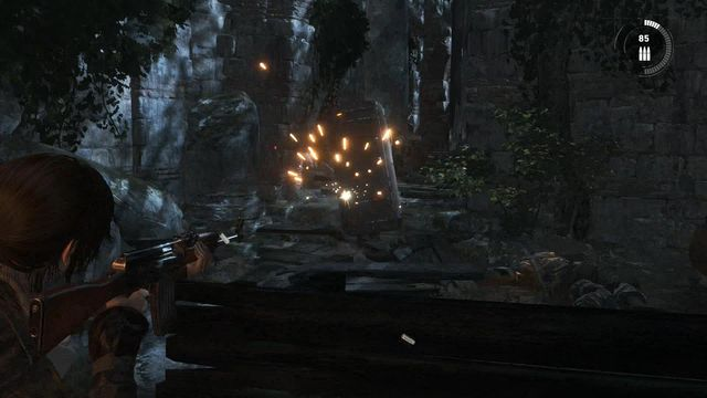When you run into shielded opponents in the next part of the location, remember when you fought against them at the copper mill - Defeat Trinity forces | Rescue Mission - Rescue Mission - Rise of the Tomb Raider Game Guide & Walkthrough