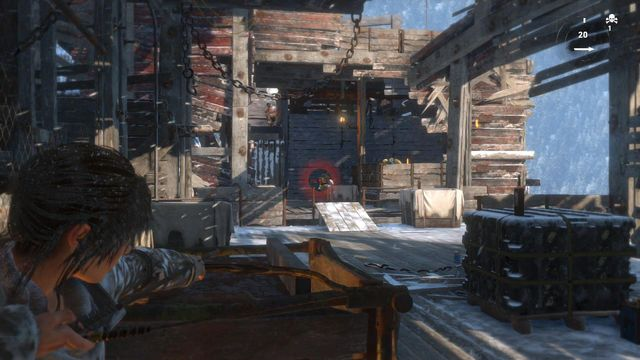 There only are several opponents, but from now on, you will frequently be dealing with their grenades - Climb the copper mill to reach the mine entrance | Alone Again - Alone Again - Rise of the Tomb Raider Game Guide & Walkthrough