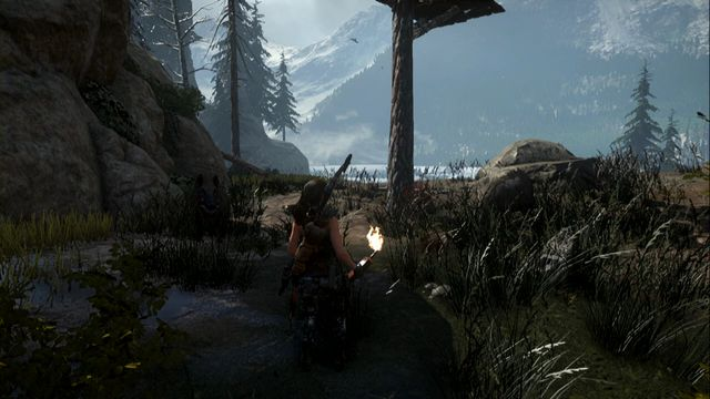 Jump down then, near the wooden cottage (here, you find a razorback marker on the map) - Bacon! | Achievements - Achievements - Rise of the Tomb Raider Game Guide & Walkthrough
