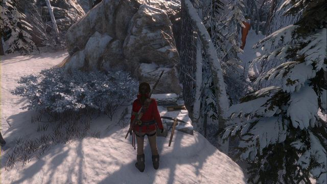 Close to the camp on a ledge - Documents | Siberian Wilderness - Siberian Wilderness - Rise of the Tomb Raider Game Guide & Walkthrough
