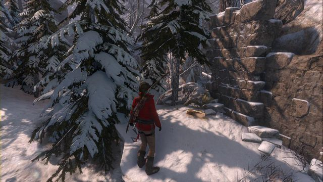 Just like the previous one, close to the camp, at the wall close to the road - Documents | Siberian Wilderness - Siberian Wilderness - Rise of the Tomb Raider Game Guide & Walkthrough