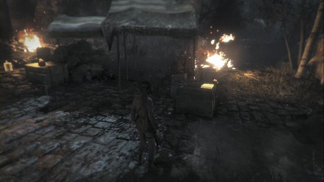 It is in the box, in the central spot of the same location as Remnants Bazaar, when you visit the location for the second time - Documents | The Acropolis - The Acropolis - Rise of the Tomb Raider Game Guide & Walkthrough