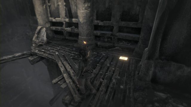 From the Archive chamber, walk through the narrow passage between rocks, towards the location entrance - Documents | Flooded Archives - Flooded Archives - Rise of the Tomb Raider Game Guide & Walkthrough
