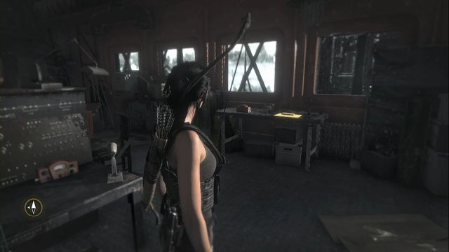 On the desk at the window, in the weather station building - Documents | Research Base - Research Base - Rise of the Tomb Raider Game Guide & Walkthrough