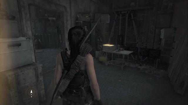 A bit after you collect the previous document, in the next room of the weather station, in front of the stairs up - Documents | Research Base - Research Base - Rise of the Tomb Raider Game Guide & Walkthrough