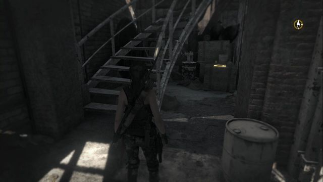 After you come down to the prison block, climb down the stairs - Documents | Research Base - Research Base - Rise of the Tomb Raider Game Guide & Walkthrough