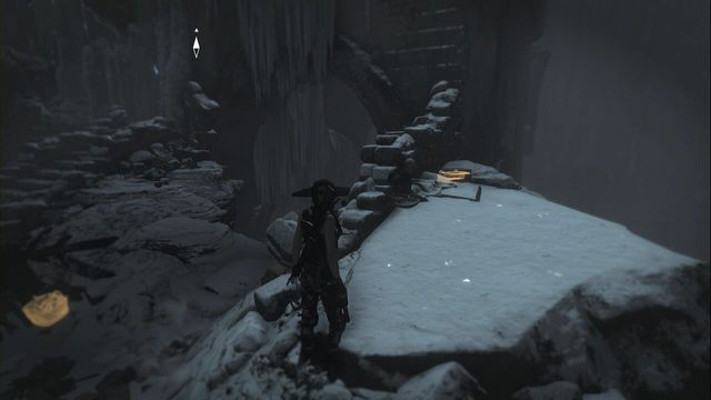 Right after you fight two deathless, under archers fire - defeating them opens up path ahead - Relics and Documents | Path of the Deathless - Path of the Deathless - Rise of the Tomb Raider Game Guide & Walkthrough
