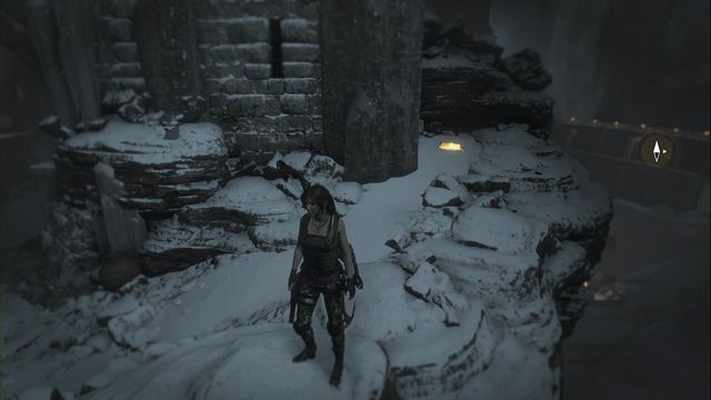 Behind the same gate as the previous document - after you cross the gate, approach the edge on the left of the gate - Relics and Documents | Path of the Deathless - Path of the Deathless - Rise of the Tomb Raider Game Guide & Walkthrough