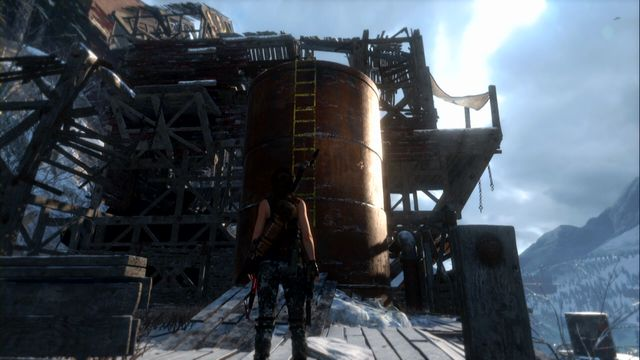 If you have not obtained the achievement during the storyline and completed the game already, a good location to push off enemies is at the Soviet Installation (replay the Copper Mill stage) - Renegade | Achievements - Achievements - Rise of the Tomb Raider Game Guide & Walkthrough