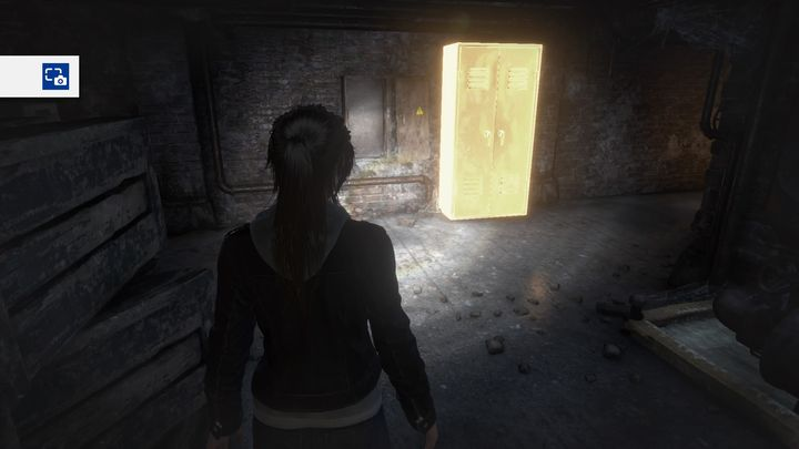On the other side of the wall there is a corridor that leads to the secret passage to the library. - Discover Lord Crofts secret | Blood Ties DLC Walkthrough - Walkthrough | Blood Ties DLC - Rise of the Tomb Raider Game Guide & Walkthrough