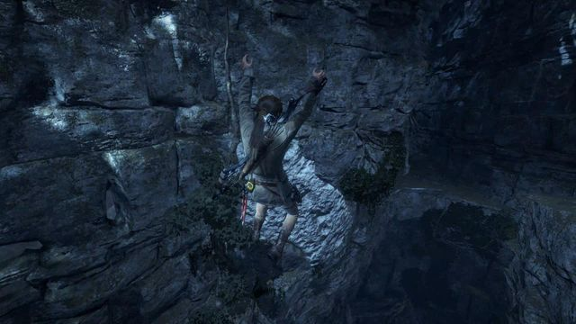 Using both the rope and the hatchet, make it over to the exit of the tunnel - Find a safe path back to the Remnant village | Back to the Forest - Back to the Forest - Rise of the Tomb Raider Game Guide & Walkthrough