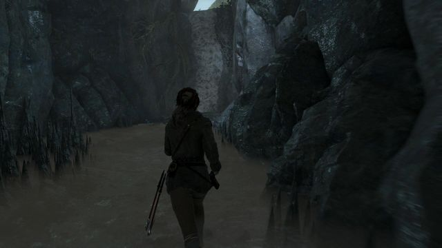 After you exit the water, you will get outside, by climbing over the wall shown in the screenshot - Return to the valley | Escape the Archive - Escape the Archive - Rise of the Tomb Raider Game Guide & Walkthrough
