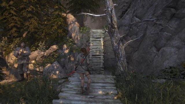 To reach the observatory, you need to pass through a fragment of the geothermal valley - Find your way up the mountains to the Observatory | The Gathering - The Gathering - Rise of the Tomb Raider Game Guide & Walkthrough