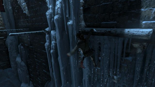 how to jump in the water rise of tomb raider