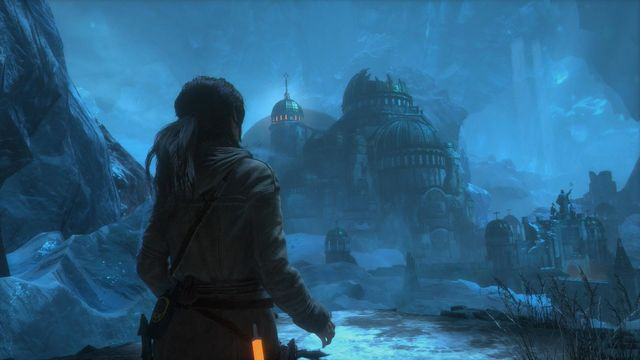 Kitezh is a short way off - Find a way into the lost city of Kitezh | Breaking In - Breaking In - Rise of the Tomb Raider Game Guide & Walkthrough
