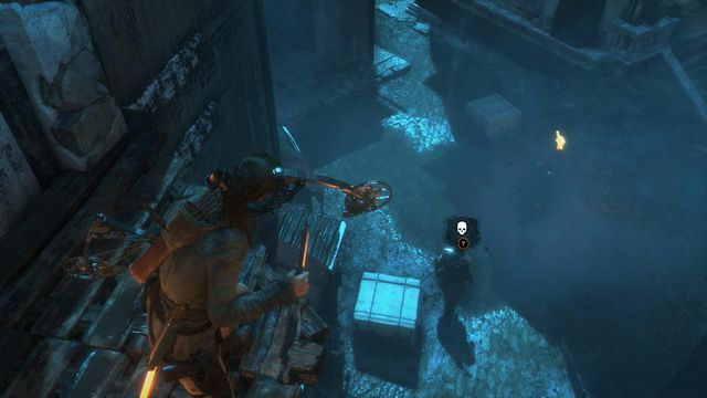 You can also try to eliminate several lone guards - Get through the first gate | The Frozen City - The Frozen City - Rise of the Tomb Raider Game Guide & Walkthrough