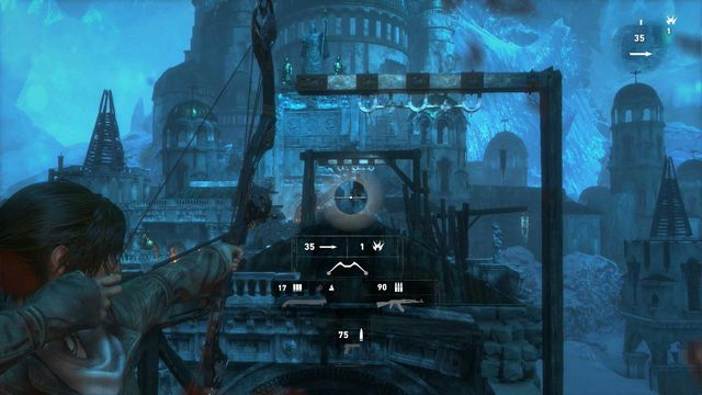 The last thing you need to do is cross the destroyed bridge towards the gate that you have just destroyed - Cross the bridge | Gate Crasher - Gate Crasher - Rise of the Tomb Raider Game Guide & Walkthrough