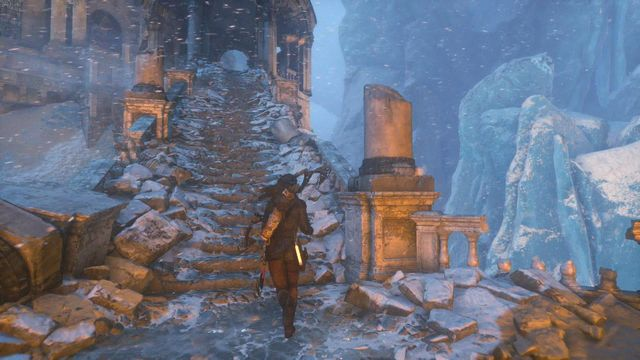 Now, you only need to enter the Chamber of Souls and see the game ending - Enter the Chamber of Souls | The Divine Source - The Divine Source - Rise of the Tomb Raider Game Guide & Walkthrough