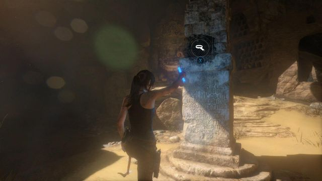 After interacting with three murals, Laras skill in reading Greek will increase - Search the chamber with murals | Syria - Lost tomb - Syria - Lost tomb - Rise of the Tomb Raider Game Guide & Walkthrough