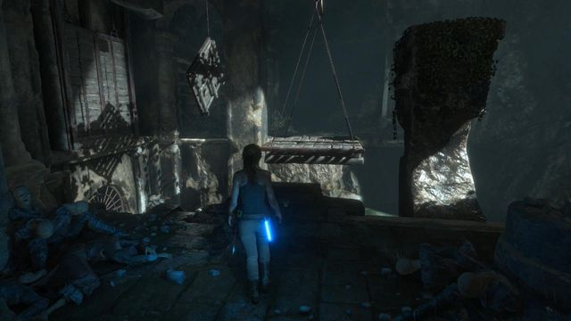 Another environmental riddle is the last in this location - Climb to the top of the main chamber of the tomb | Syria - Lost tomb - Syria - Lost tomb - Rise of the Tomb Raider Game Guide & Walkthrough
