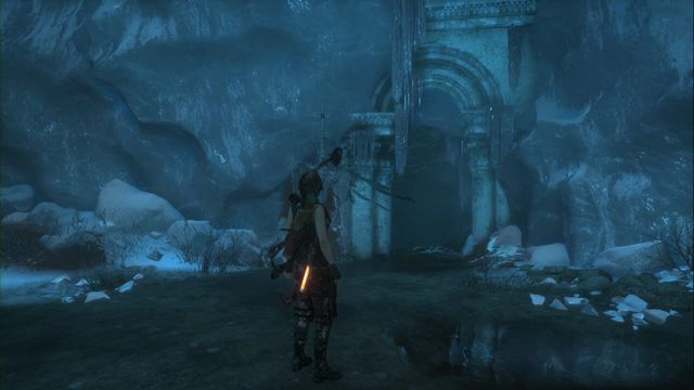 The chamber leading up to the tomb. - Tomb - Chamber of Exorcism [9/9] | Lost City - Lost City - Rise of the Tomb Raider Game Guide & Walkthrough