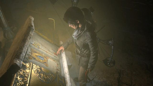 Along any path, make it over to stable piece of ground and open the book there, thanks to which Lara learns an ancient skill - Use the planetarium to open the entrance to Kitezh | Path of the Deathless - Path of the Deathless - Rise of the Tomb Raider Game Guide & Walkthrough