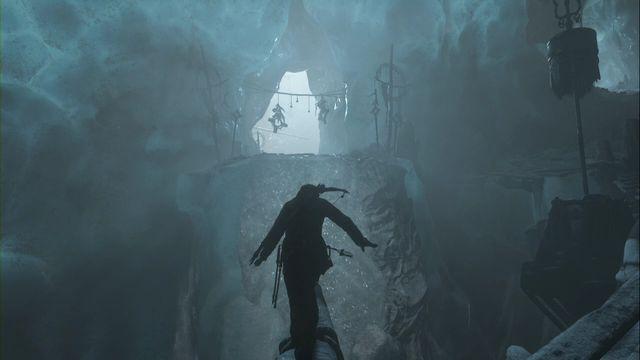 tomb raider glacial cavern crack the ice