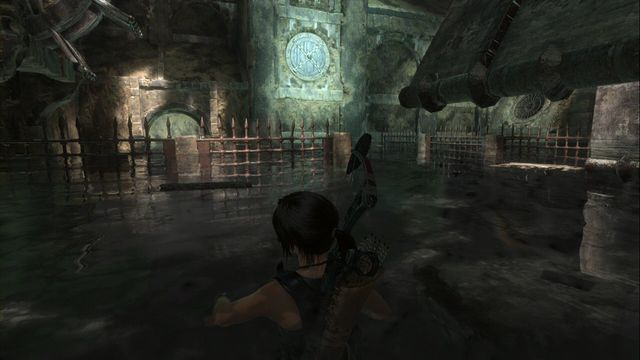 Destroy the obstacle in the room, on the left of the main chamber. - Tomb - Ancient Cistern [3/9] | Soviet Installation - Soviet Installation - Rise of the Tomb Raider Game Guide & Walkthrough