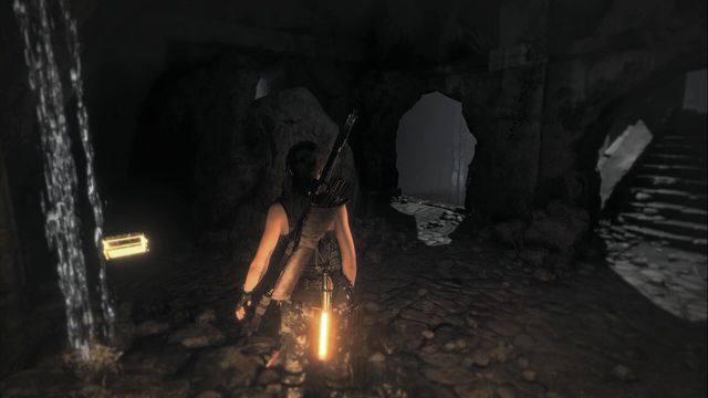 In the cave of the Ancient Cistern tomb - Relics | Soviet Installation - Soviet Installation - Rise of the Tomb Raider Game Guide & Walkthrough