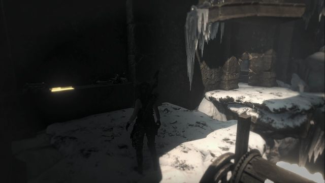 In the Voice of God tomb, at the hoist - Documents | Soviet Installation - Soviet Installation - Rise of the Tomb Raider Game Guide & Walkthrough