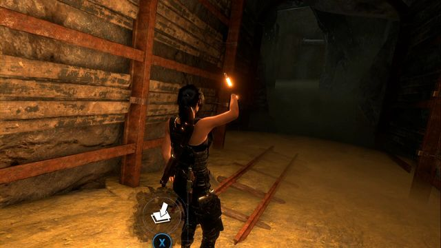 At the second fork inside Red Mines (the flooded level) go left - the cache is at the end of the collapsed tunnel - Survival Caches | Soviet Installation - Soviet Installation - Rise of the Tomb Raider Game Guide & Walkthrough