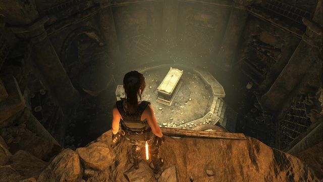 You can quickly get to the exit by going down from the Hidden Camp - Chests and crypt treasures | Soviet Installation - Soviet Installation - Rise of the Tomb Raider Game Guide & Walkthrough