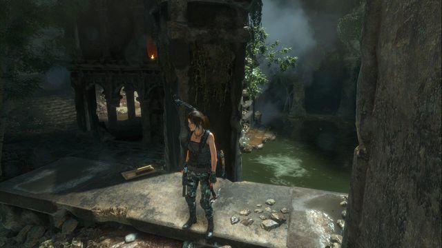 On the wall, next to the column - Relics and documents | Syria - Syria - Rise of the Tomb Raider Game Guide & Walkthrough