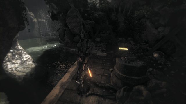 Right after you enter that chamber, on the ground on the right - Relics and documents | Syria - Syria - Rise of the Tomb Raider Game Guide & Walkthrough