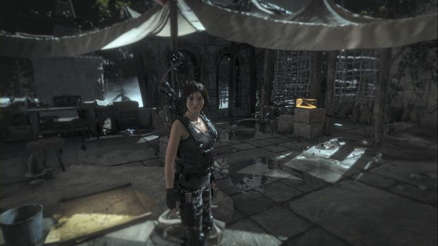In the tent in the Valley Farmstead Base camp - Relics | Geothermal Valley - Geothermal Valley - Rise of the Tomb Raider Game Guide & Walkthrough