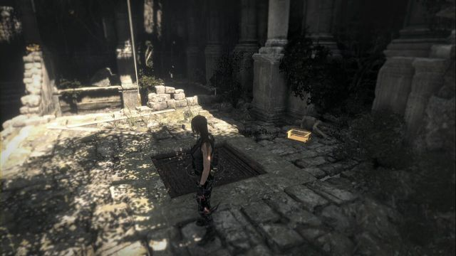 In the House of the Afflicted tomb, after you walk into the yard, run towards the second gate opposite the entrance to the actual camp - Relics | Geothermal Valley - Geothermal Valley - Rise of the Tomb Raider Game Guide & Walkthrough