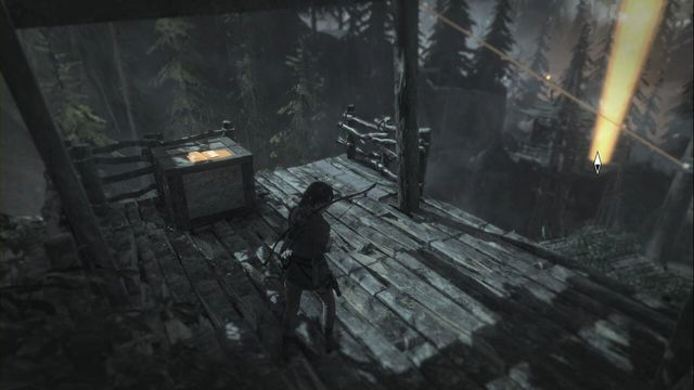 After you exit Acropolis (Riverside Landing Base Camp), you can zip down the line - Documents 1-15 | Geothermal Valley - Geothermal Valley - Rise of the Tomb Raider Game Guide & Walkthrough