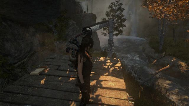 On the column that you get onto by jumping off the nearby tree - Documents 16-33 | Geothermal Valley - Geothermal Valley - Rise of the Tomb Raider Game Guide & Walkthrough