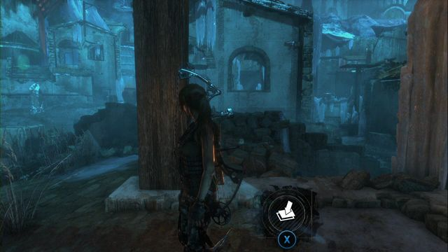 In front of the entrance to the small bell tower - Survival caches | Lost City - Lost City - Rise of the Tomb Raider Game Guide & Walkthrough