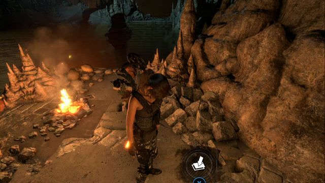 In tomb Chamber of Exorcism, by the campfire in camp Geothermal Valley - Survival caches | Lost City - Lost City - Rise of the Tomb Raider Game Guide & Walkthrough