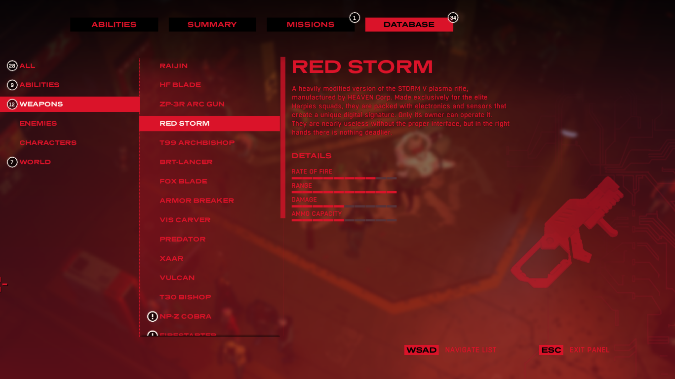 all weapons in ruiner advice ruiner game guide gamepressure com