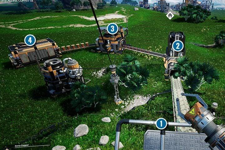 Production lines in Satisfactory - Satisfactory Guide   gamepressure com