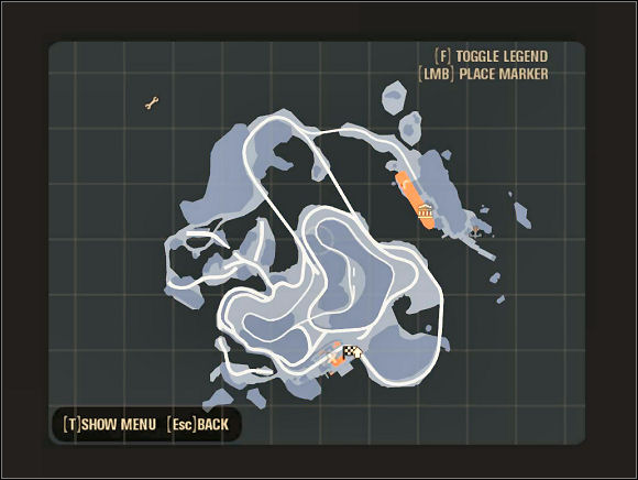 Map   Islands - Scarface: The World is Yours Game Guide ... Scarface The World Is Yours Map on red river world map, guy world map, saigon world map, jurassic park world map, morocco world map, conan the barbarian world map, juarez world map, future world map, casino world map, detailed world map, tobruk world map, nivea world map, lord of the rings world map, wolf world map, city lights world map, algiers world map, simpsons world map,