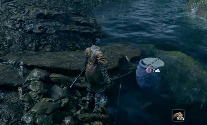 This merchant accepts only Treasure Carp Scales - Pot Noble Harunaga | Merchants in Sekiro Shadows Die Twice - Merchants - Sekiro Guide and Walkthrough