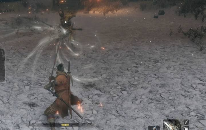 Spiral Spear is the third upgrade for the Loaded Spear (this one requires the previous two upgrades for Loaded Spear and Gouging Top upgrade for Loaded Shuriken) - Loaded Spear | Prosthetic Tools in Sekiro Shadows Die Twice - Prosthetic Tools - Sekiro Guide and Walkthrough