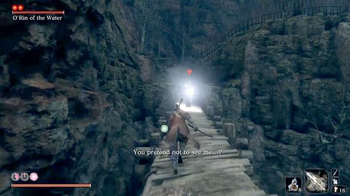 To reach the last boss of Ashina Depths, you have to go through Mibu Village and activate Water Mill Sculptors Idol - Corrupted Monk | Sekiro Shadows Die Twice Boss Fight - Bosses - Sekiro Guide and Walkthrough