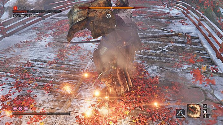 Luckily, there is a simple strategy that will allow you to defeat the True Corrupted Monk - True Corrupted Monk | Sekiro Shadows Die Twice Boss Fight - Bosses - Sekiro Guide and Walkthrough